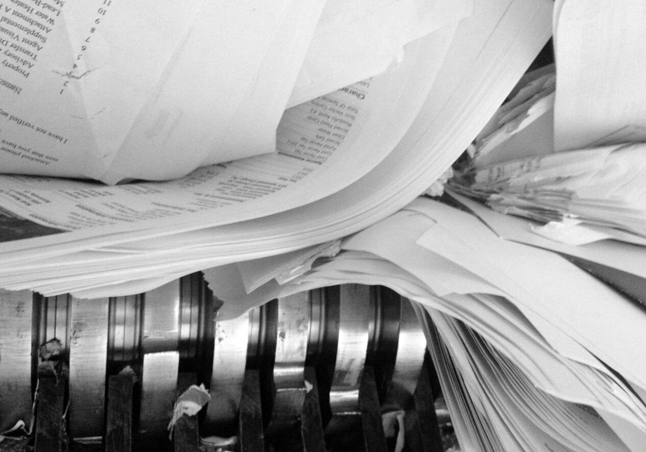 Insite on site paper and documents shredding service