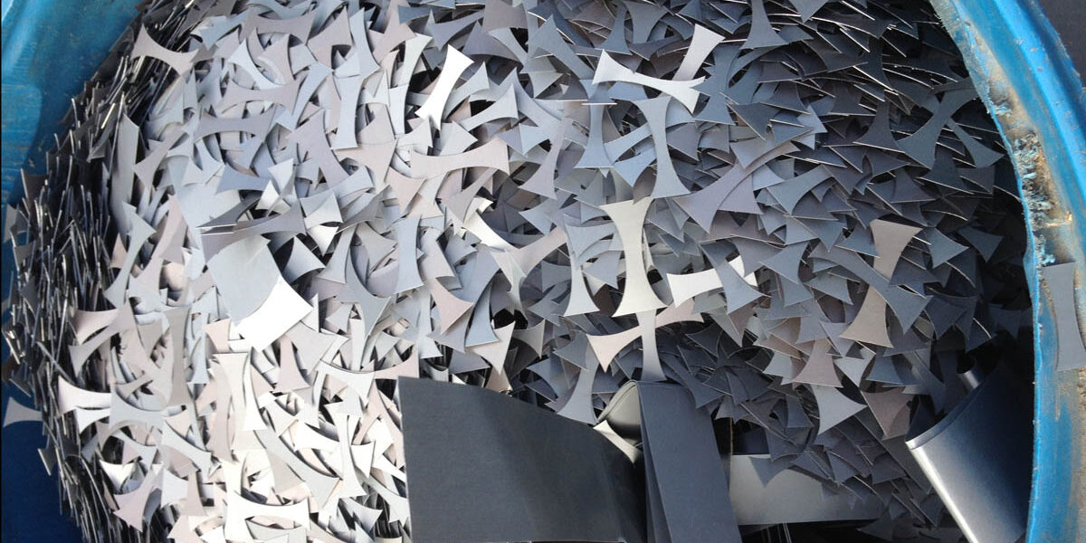 Insite shredding - metal and steel recycling